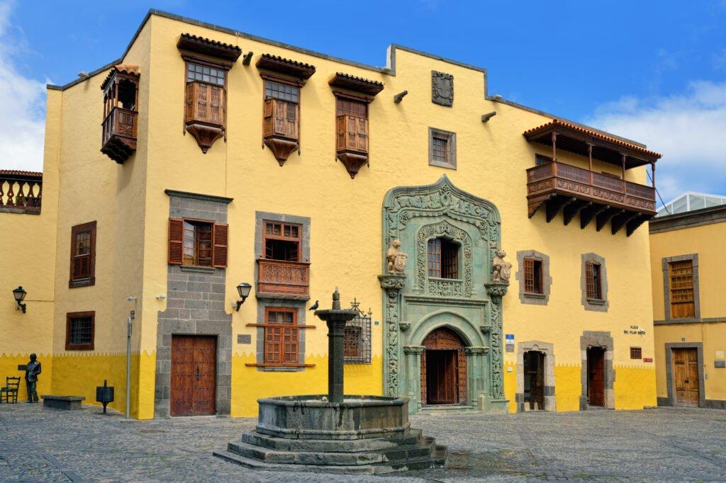 La Casa de Colón para hacer en Gran Canaria