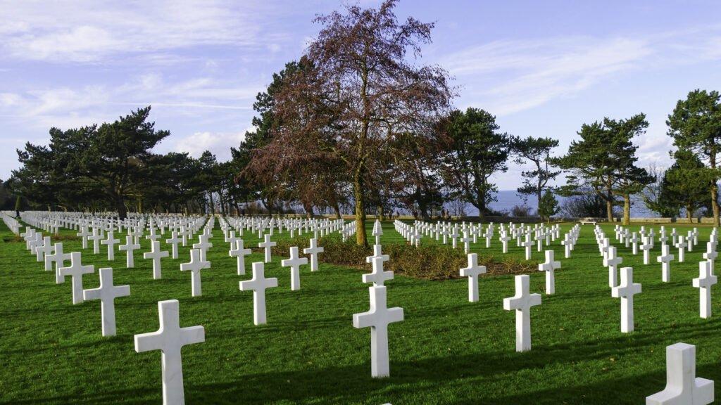 El cementerio americano de Colleville-sur-Mer