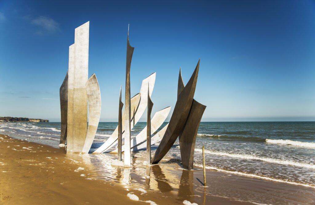 Playa de Omaha y Normandía