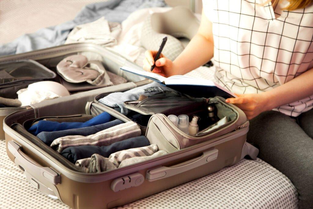 Salir a última hora con poco equipaje