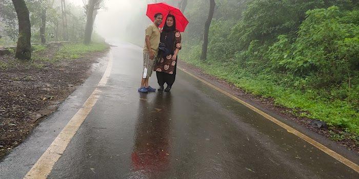 Saputara during monsoon
