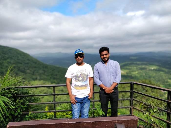 With Nirav in Saputara, Gujarat