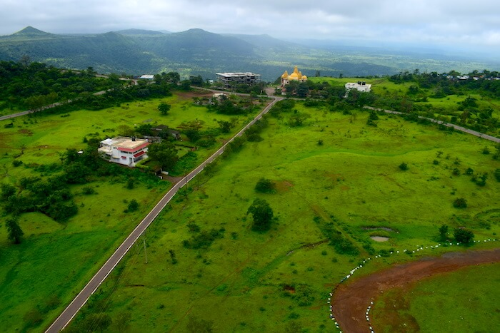 View from Cable Car - Saputara