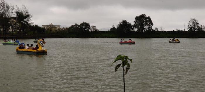 Boating in Saputara Lake