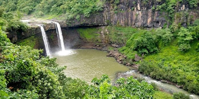 Girmal Falls near Saputara in Dang District, Gujarat