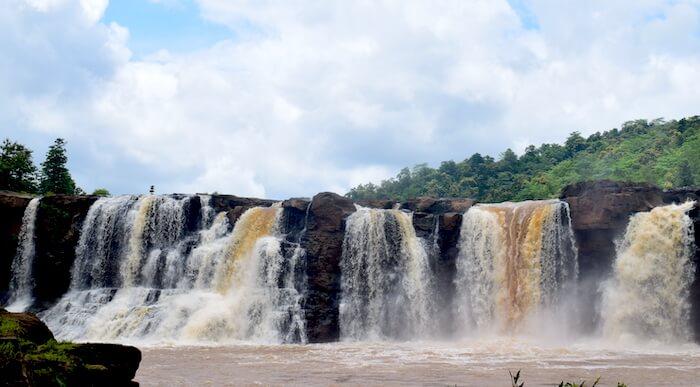 Gira Falls near Saputara, Gujarat