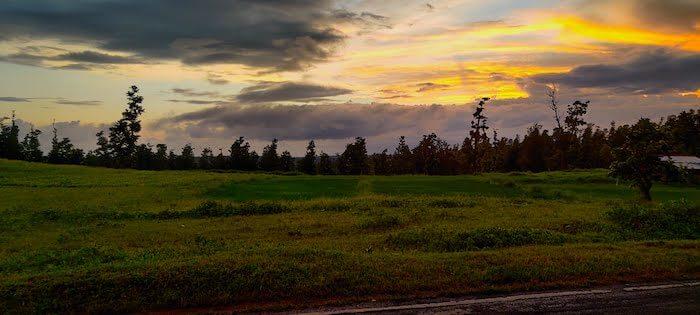 Sunset in Dang