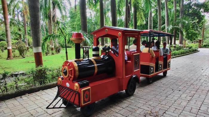 Toy Train in Waghai Botanical Gardens near Saputara, Dang, Gujarat
