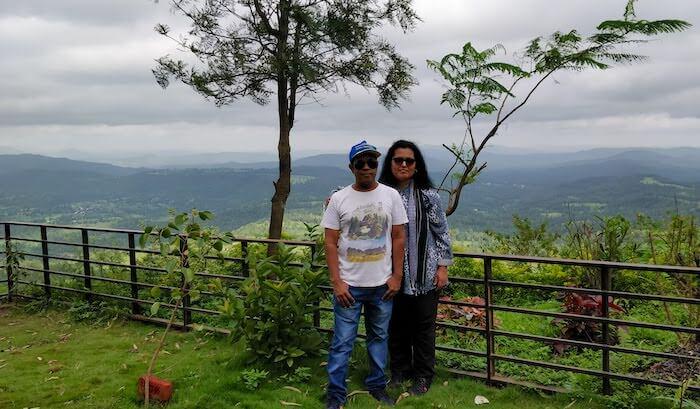 At Toran Hotel in Saputara