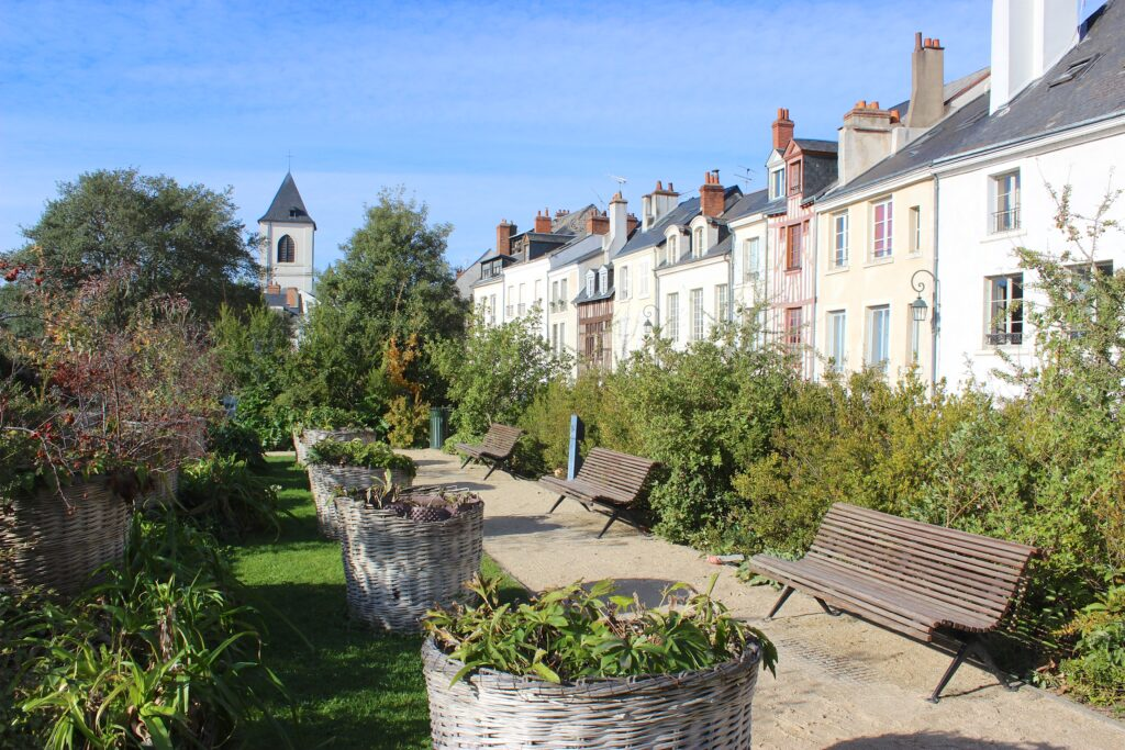 El jardín de la Charpenterie