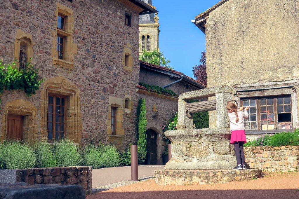 Le Crozet, ¿el pueblo más bonito de Roannais?