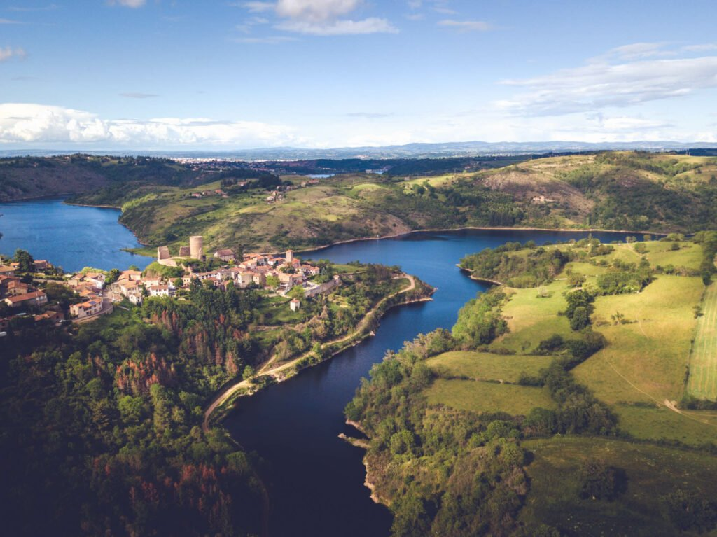 El Loira en Saint-Jean-Saint-Maurice