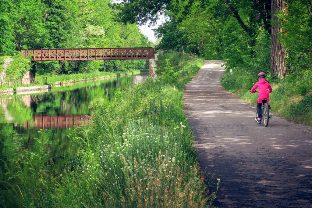 Un paseo en bicicleta por el Véloire da Roanne